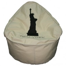 Manta Small - Cream Polyester 'New York'