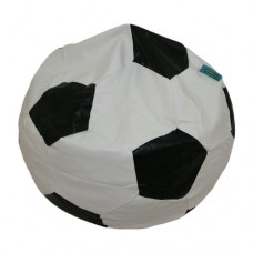 Soccer Large - Black and White Polyester