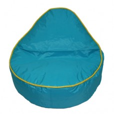 Mini Pear - Turquoise with Lemon Yellow piping NCV/PCV