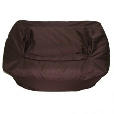Bumper - Chocolate Brown Polyester